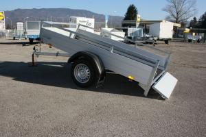 Saris McAlu Pro DV75 ankippbar Einachs Allzweckanhänger ungebremst 2.550 x 1.330 mm, 750 kg - Anhängerpark Salzburg