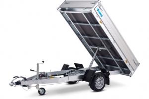 Hapert Cobalt HB-1 Einachs Rückwärtskipper gebremst 2.600 x 1.500 mm, 1.350 kg ( 1,35 to ) Anhängerpark Salzburg
