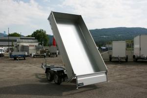 Hapert Cobalt HM-2 Tandem Rückwärtskipper mit elektrischer Bedienung, gebremst 3.050 x 1.600 mm, 2.700 kg ( 2,7 to ) Anhängerpark Salzburg