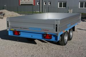 BARTHAU EH2002 Tandemanhänger Hochlader gebremst 3.010 x 1.700 mm, 2.000 kg ( 2 to ) Anhängerpark Salzburg