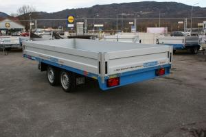 BARTHAU EH2702 Tandemanhänger Hochlader gebremst 3.750 x 1.700 mm, 2.700 kg ( 2,7 to ) Anhängerpark Salzburg