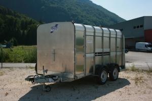 Ifor Williams Viehanhänger TA510 G12x6 mit Rampen- Türkombination und einer Querabtrennung, 3.660 x 1.780 mm, Innenhöhe 1.830 mm, 3.500 kg Anhängerpark Salzburg