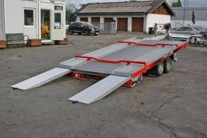 Z-Trailer Vollaluminium Autotransporter mit optional geschlossenen Boden - Anhängerpark Salzburg