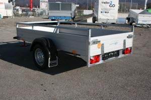 Saris McAlu Pro DV75 Einachs Allzweckanhänger ungebremst 2.550 x 1.330 mm, 750 kg - Anhängerpark Salzburg