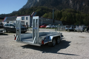 Saris Magnum Explorer 350 Tandem Baumaschinenanhänger gebremst 3.060 x 1.680 mm, 3.500 kg - Anhängerpark Salzburg