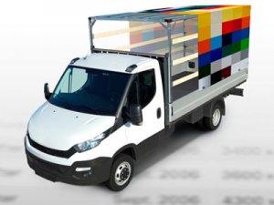 Plane für Kleintransporter Mercedes Benz Sprinter