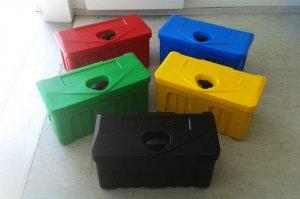 Kunststoffbox für Anhängerdeichsel