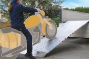 Verladerampen ohne Rand aus Aluminium - Anhängerpark Salzburg Christian Huemer