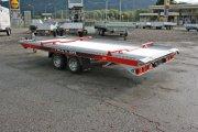 Autotransporter Fahrzeugtransporter Abschleppanhänger mieten im Anhängerpark Salzburg