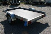 Motorrad- Plattform TIEFLADER Vollaluminium QM -Serie Aluminium