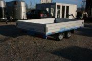 Pritschenanhänger  Hochlader niedrige Ladehöhe TP–Serie bis 3500 kg