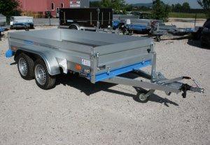 Zweiachsanhänger Cargo Quick Lader QL -Serie Aluminium